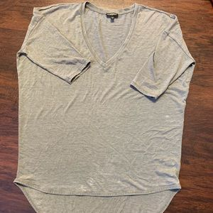 Express Vintage Cotton High Low Tunic